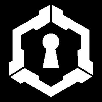 Logo Embleem wit